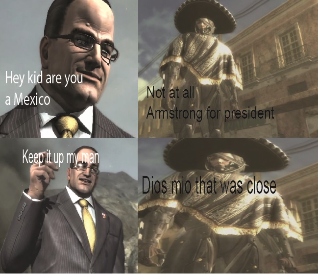 hey kid are you a mexico mgr r version metal gear rising
