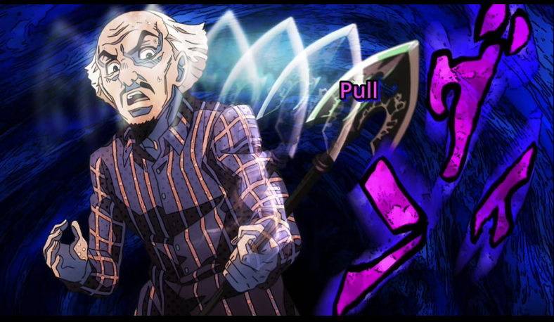 The Stand Arrow Chooses Its Victim Jojo S Bizarre Adventure Know Your Meme The first in a set of three pieces. the stand arrow chooses its victim