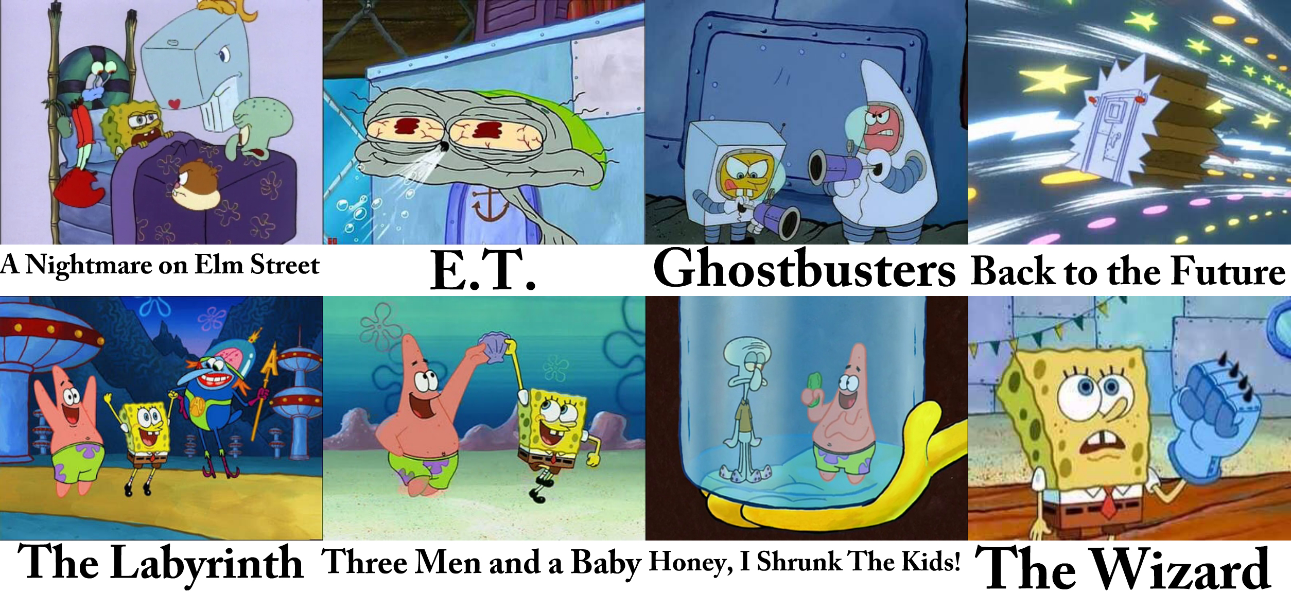 A nightmare on elm street e t ghostbusters back to the future eo run s