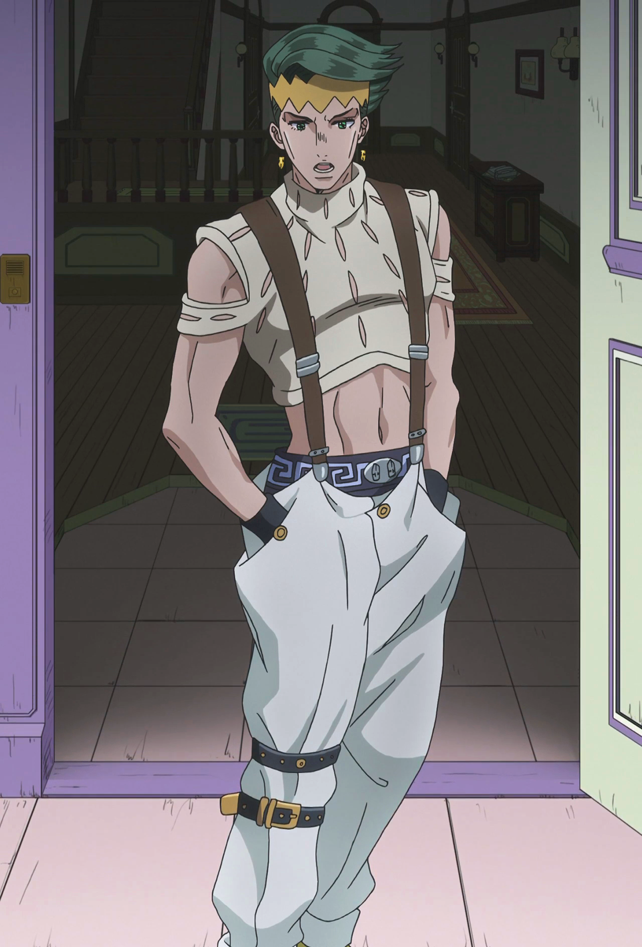Kishibe rohans dressing style