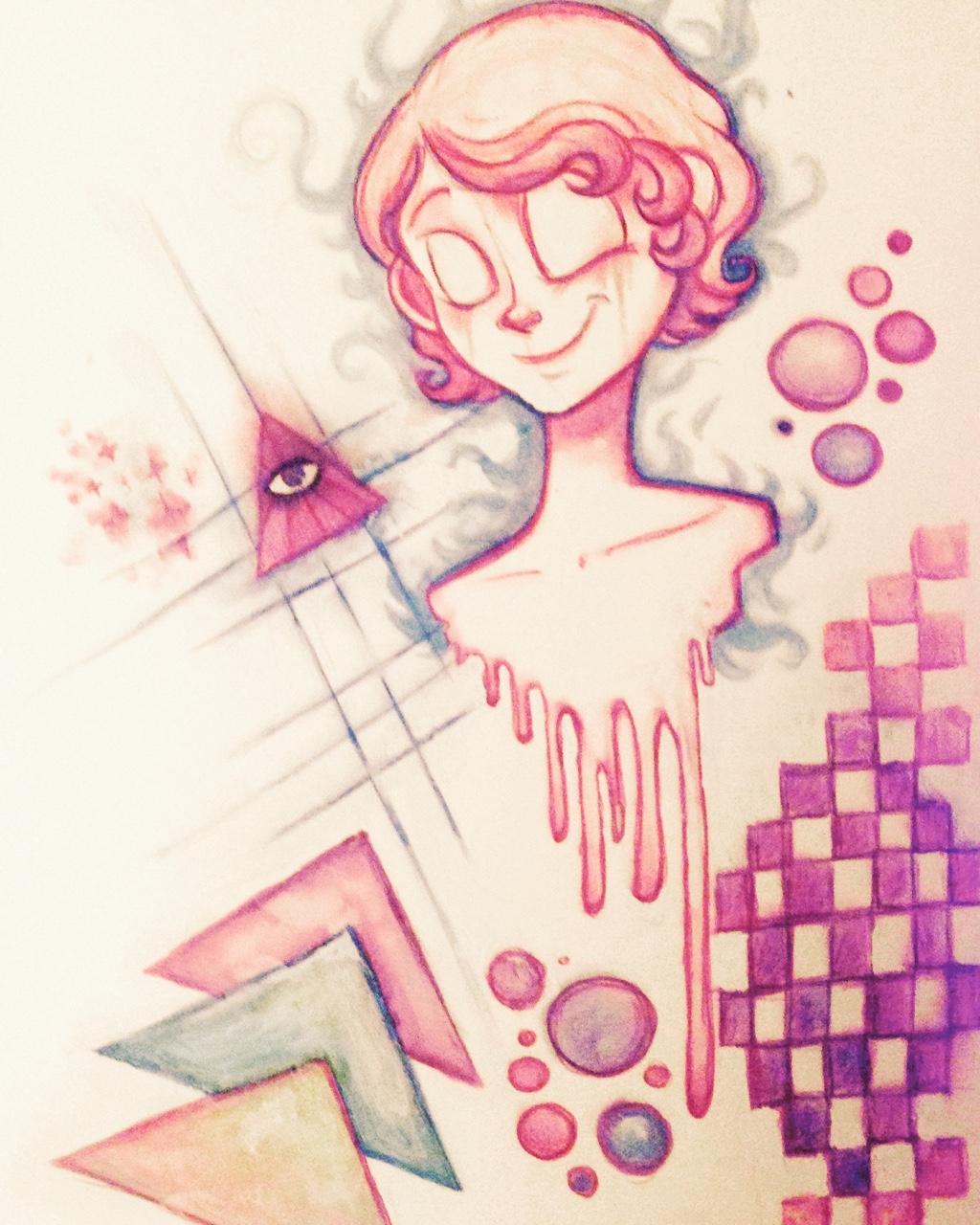 Download Art Vaporwave Drawing JPG