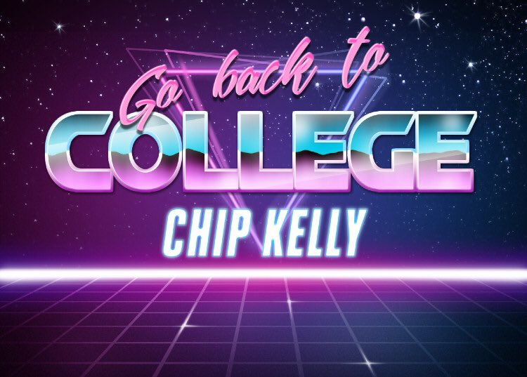 Chip Kelly | Retrowave Text Generator | Know Your Meme