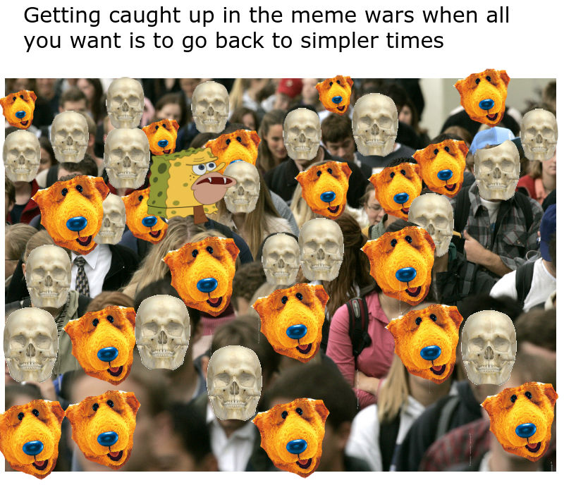Getting Caught Up In The Great Meme War When All You Want To Do Is