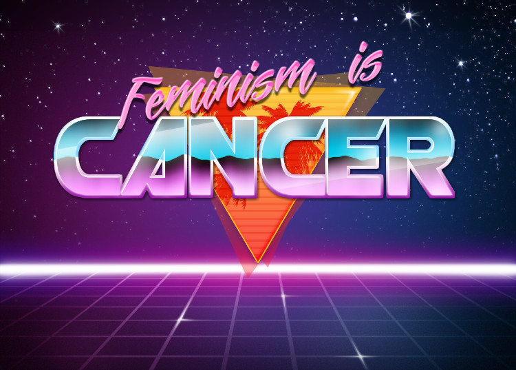Feminism | Retrowave Text Generator | Know Your Meme