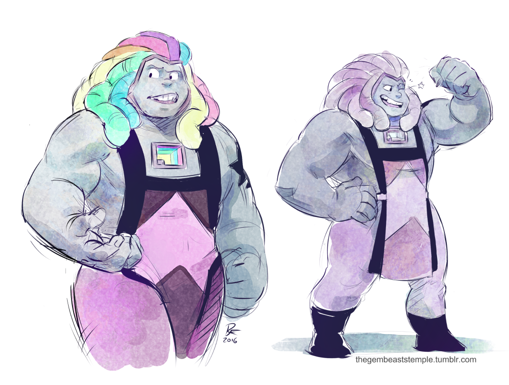 Sketches Finally Figured Out How To Draw Bismuth In A Way That I