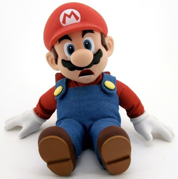 Image result for sad mario doll
