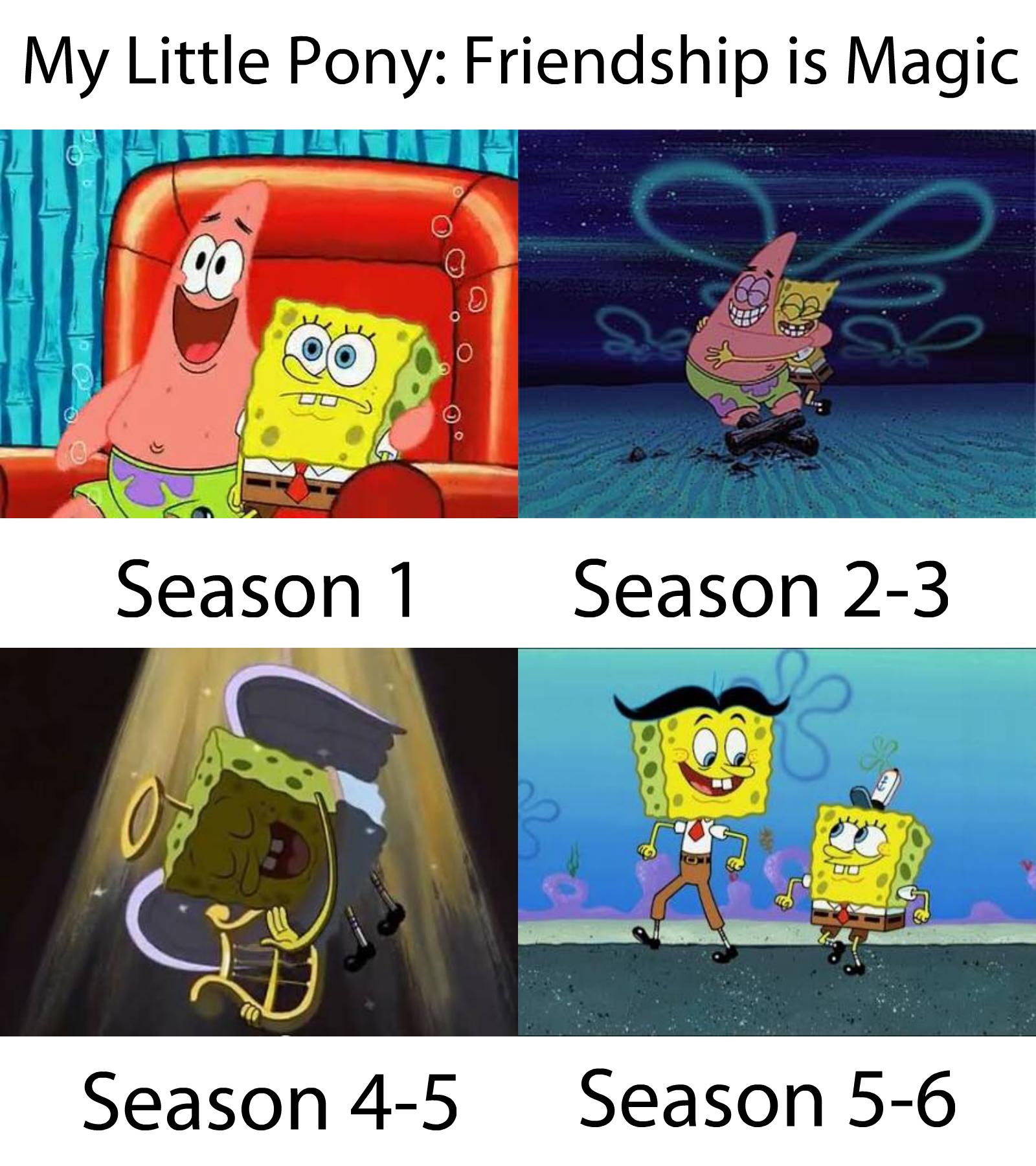 My little pony friendship is magic season season 2 3 season 4 5