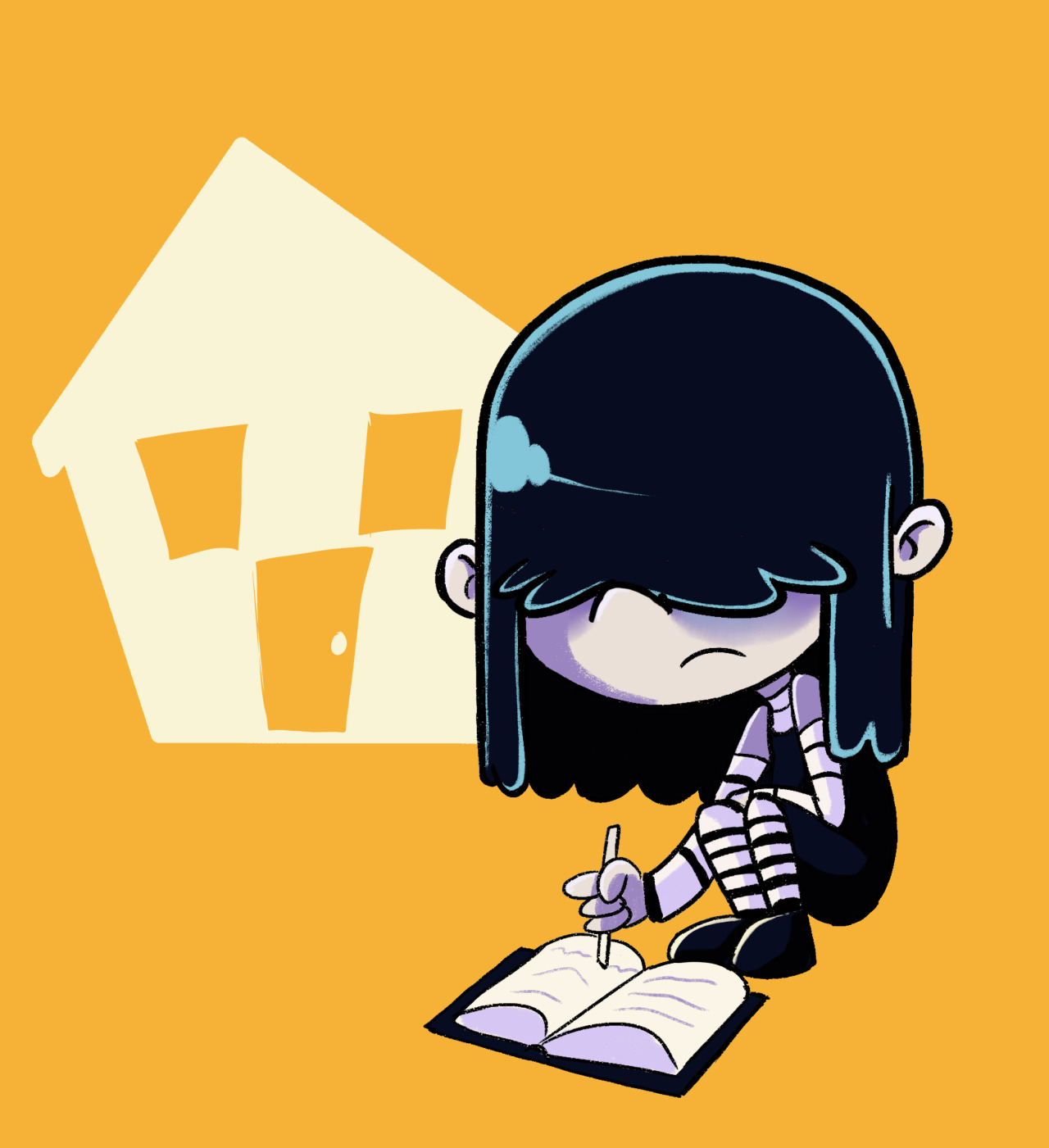 challenge lucy loud the loud house know your meme