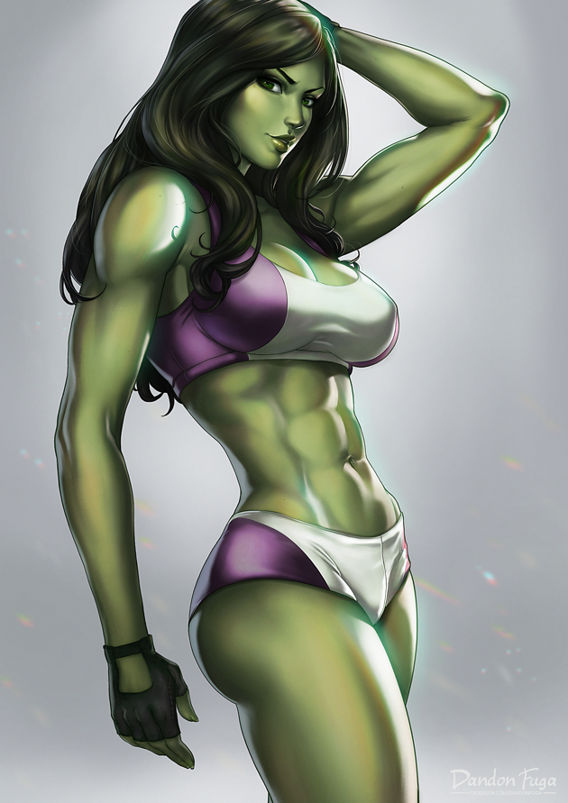 Question think, Green girl hulk naked remarkable, very
