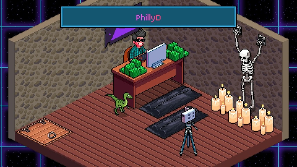 Tuber Simulator Room Ideas PhillyD PewDiePieu0027s Tuber Simulator games pc game technology