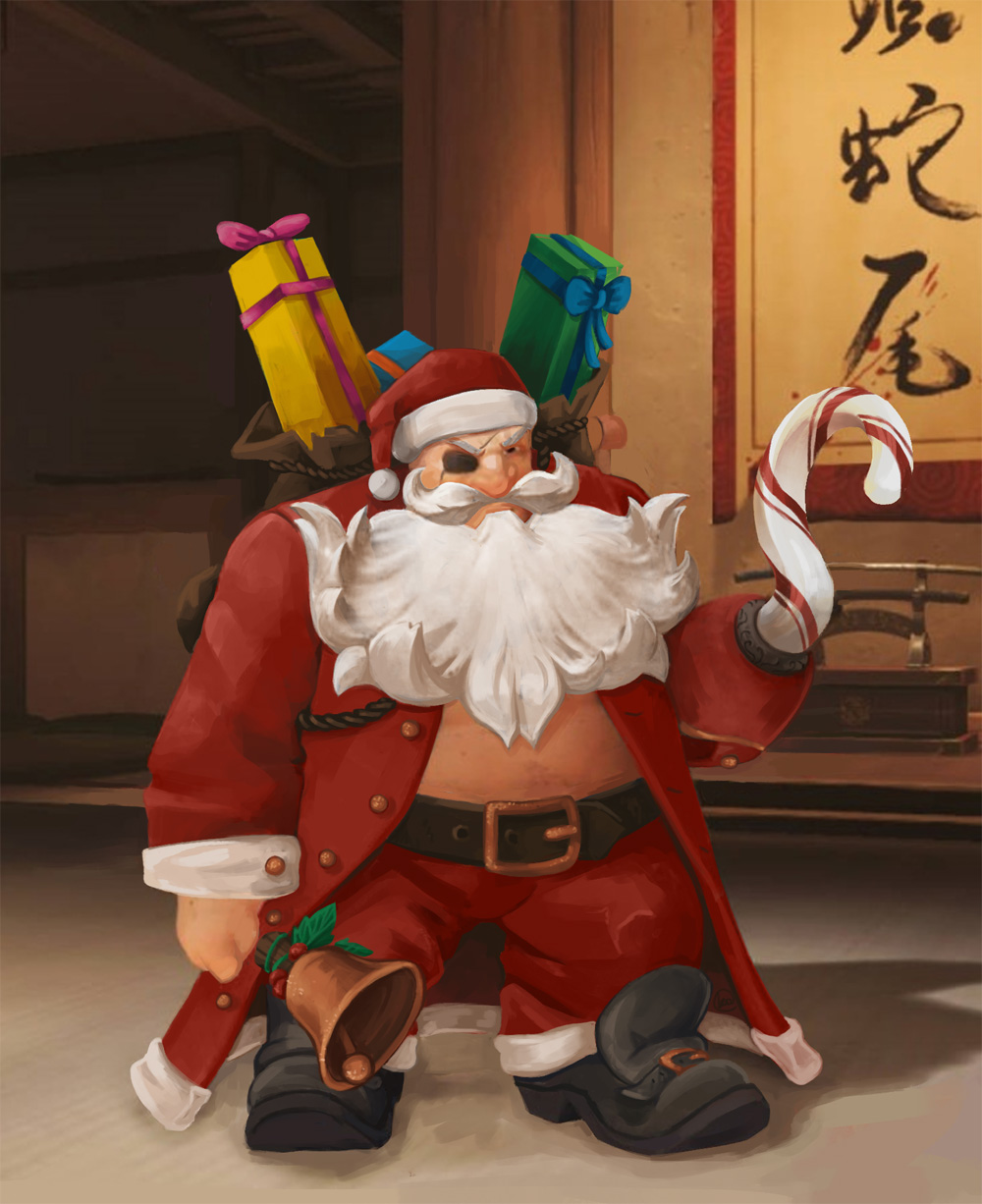 overwatch heroes of the storm santa claus fictional character santa claus