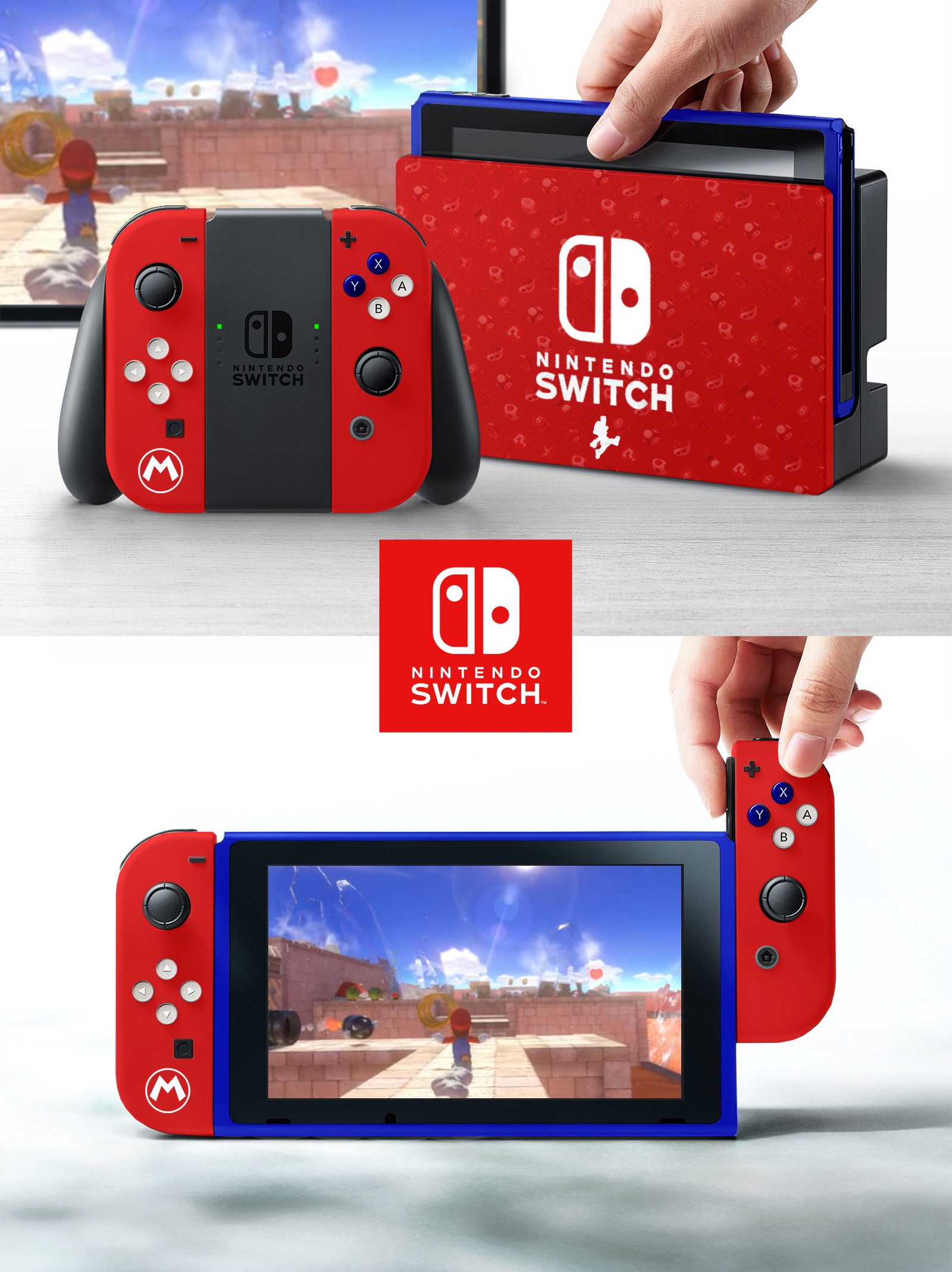 Nintendo Switch Super Mario Edition Nintendo Switch Know