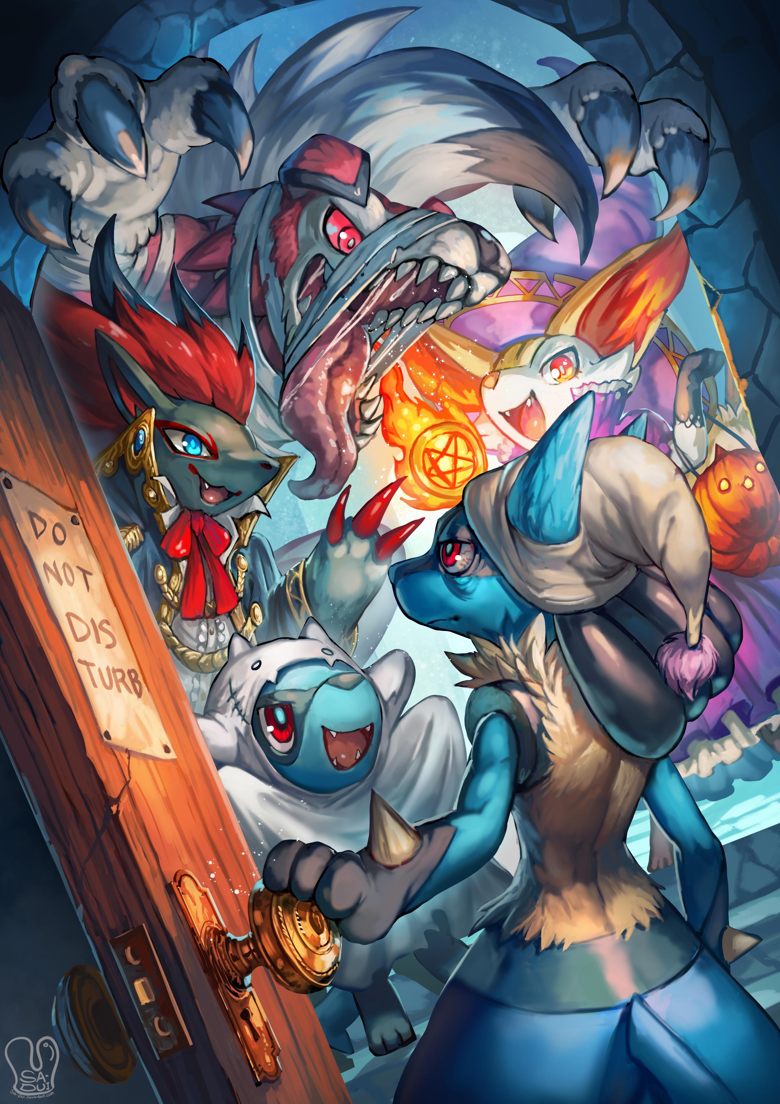 Lucario Gets Woken Up By His Friends Pokémon Know Your Meme