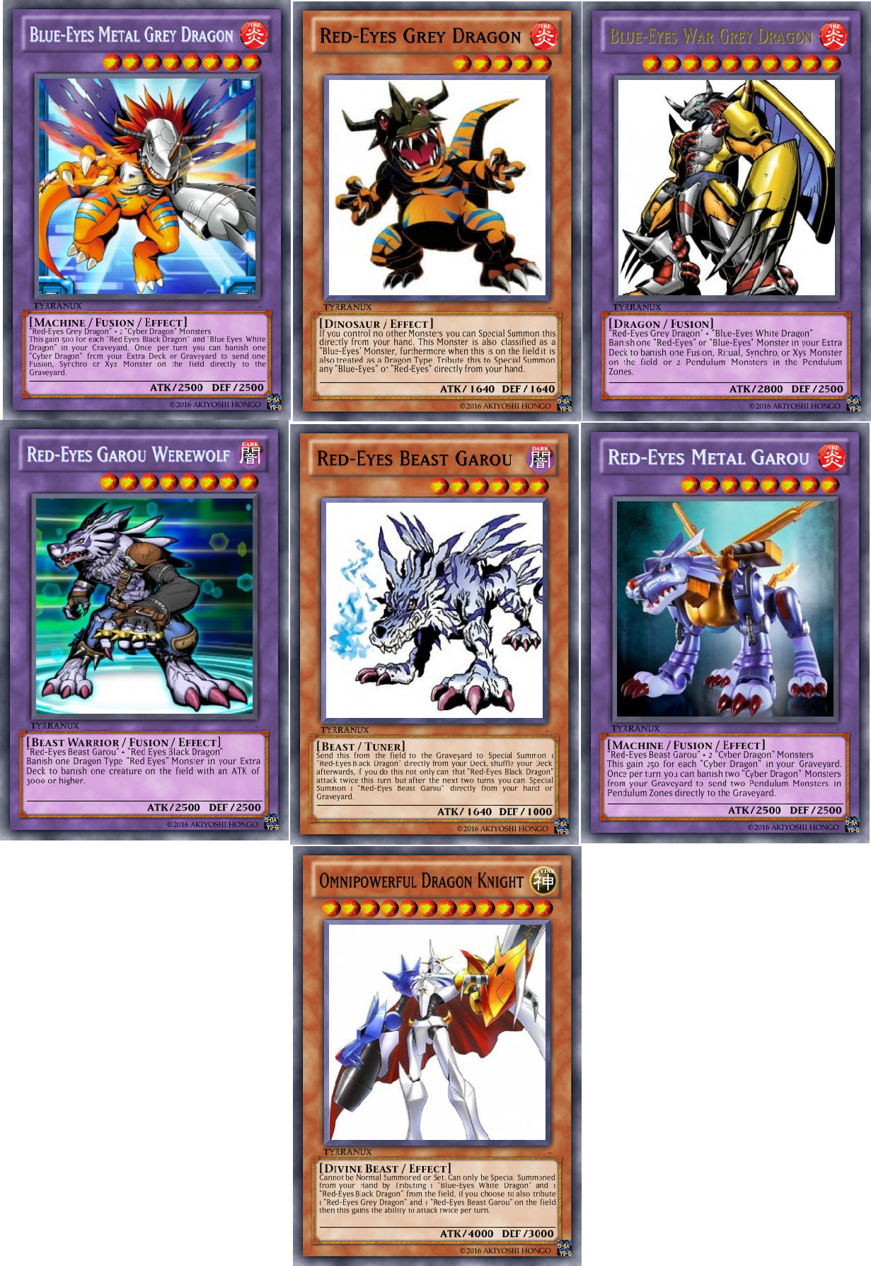 Terrys Shitty Yu Gi Oh Cards Black White Dragon Support Edition