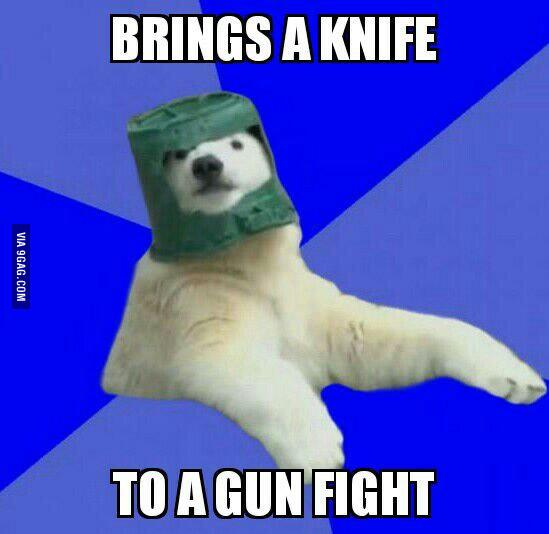 Original Poorly Prepared Polar Bear Know Your Meme