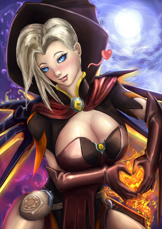 Halloween Mercy Meme - Ayla Thorpe