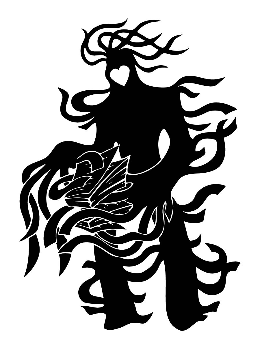 black black and white vertebrate fictional character art mythical creature  monochrome photography silhouette