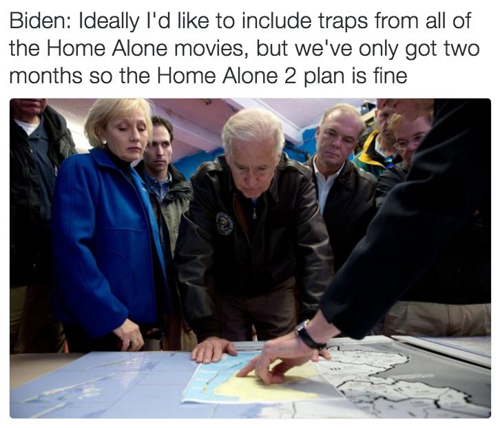 Home Alone 2 Is Fine | Prankster Joe Biden | Know Your Meme