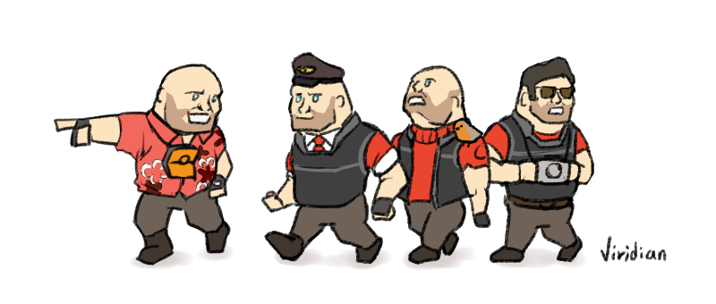 Hoovy Tourists Team Fortress 2 Know Your Meme