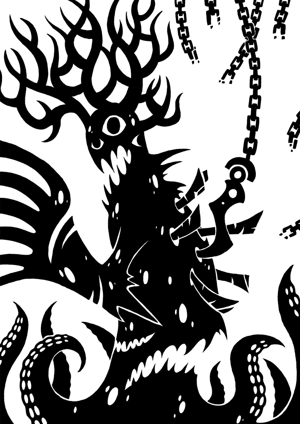 black black and white pattern fictional character design monochrome  photography art