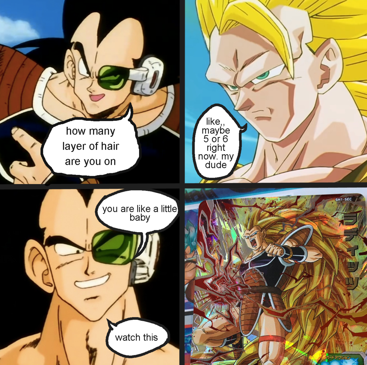Raditz Goes Ssj3 User Blog Bardockgoku Ssj3 Raditz Dragon Ball Wiki