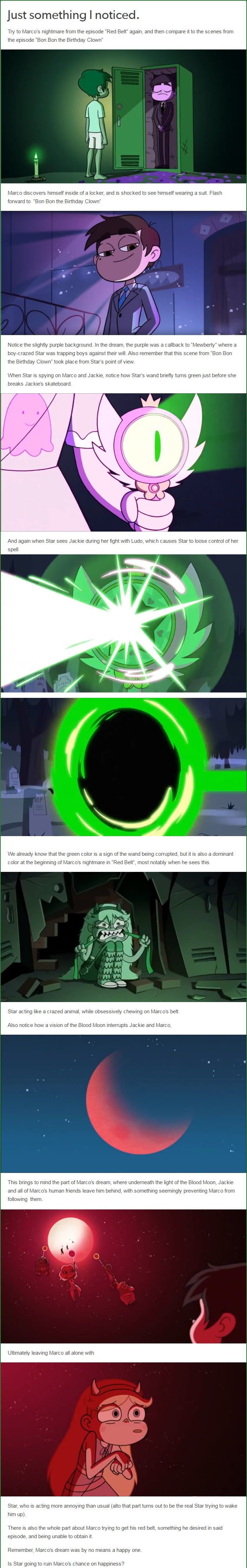 star vs the forces of evil blood moon episode