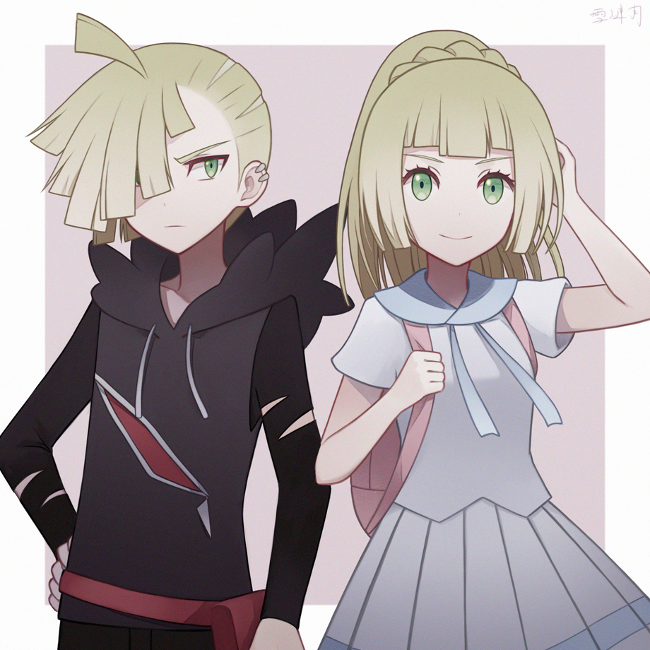 Gladion And Lillie Pokmon Sun And Moon Know Your Meme