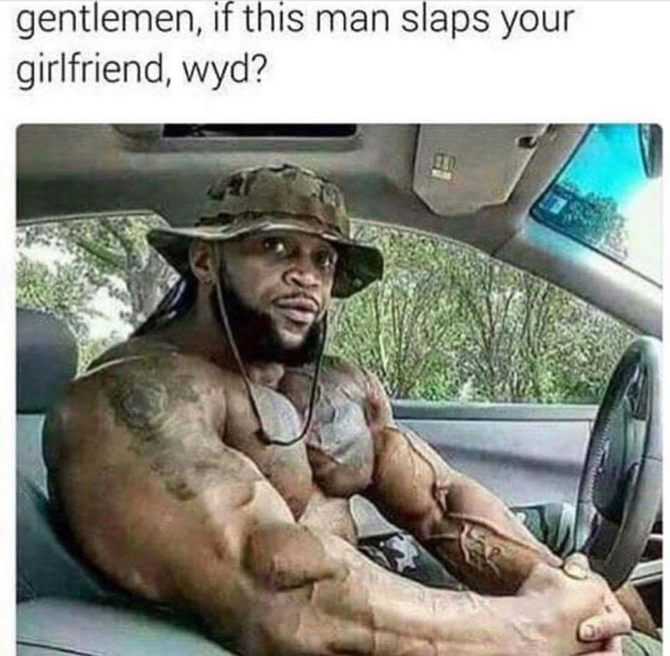 What does butt slapping girls mean, naked women in a semi truck