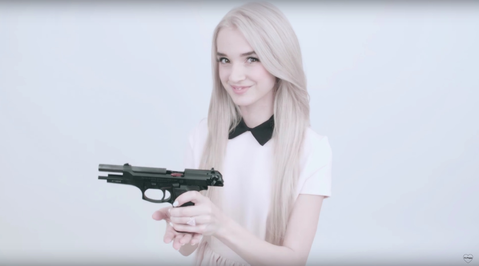 princess with a pistol poppy know your meme