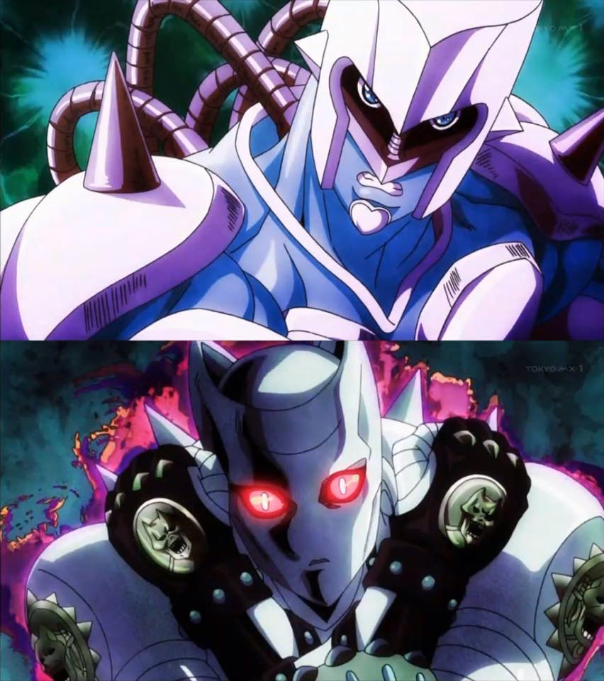 Killer Queen Vs Crazy Diamond Jojo S Bizarre Adventure Know Your Meme クレイジー・ダイヤモンド stand power of higashikata jousuke from jojo no kimyou na bouken. killer queen vs crazy diamond jojo s