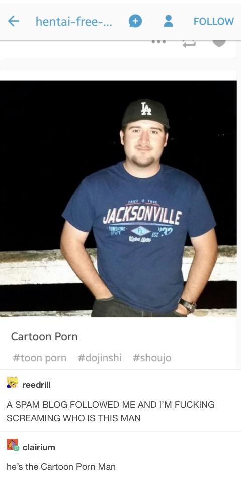 The Legendary Cartoon Porn Man | Tumblr | Know Your Meme