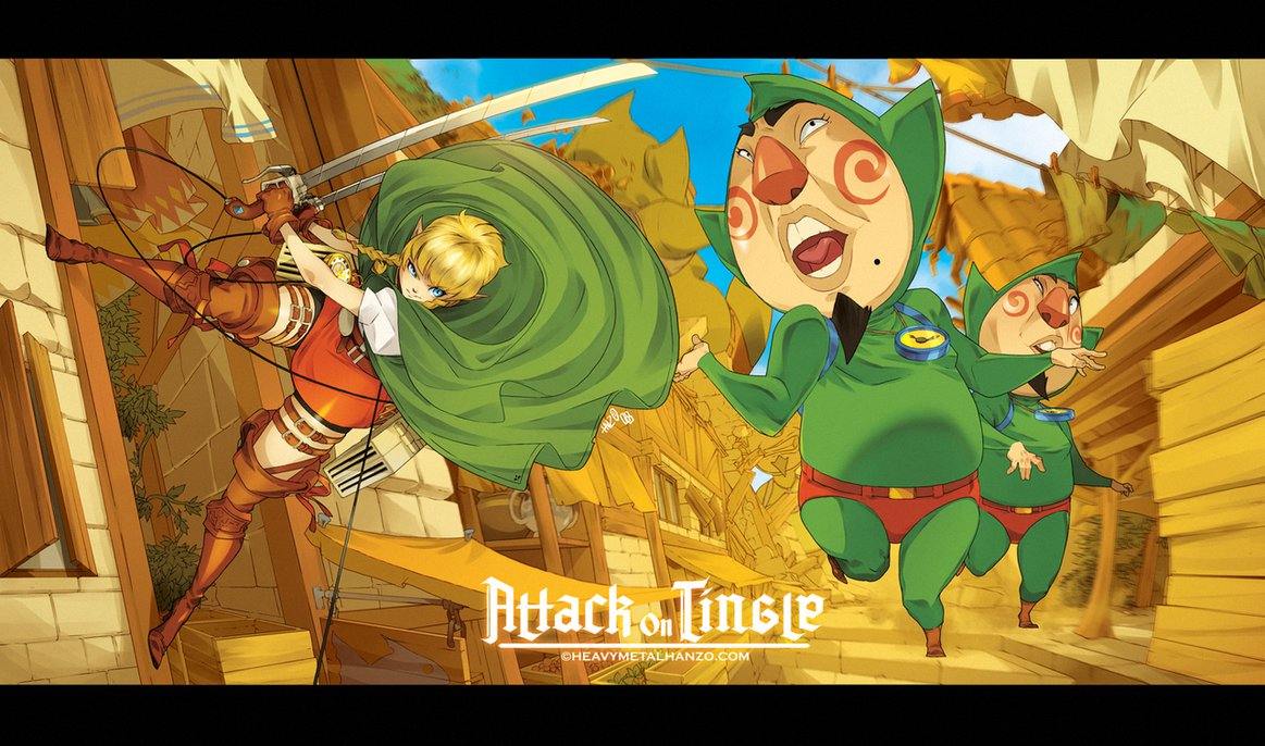 Attack On Tingle The Legend Of Zelda Know Your Meme