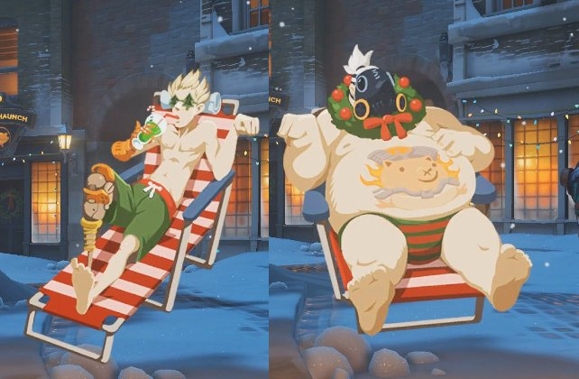 Overwatch Christmas.Christmas Relaxation Overwatch Know Your Meme