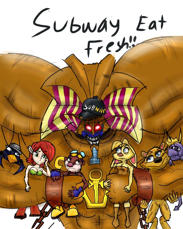 Subway Eat Fresh Exodia The Forbidden One Know Your Meme