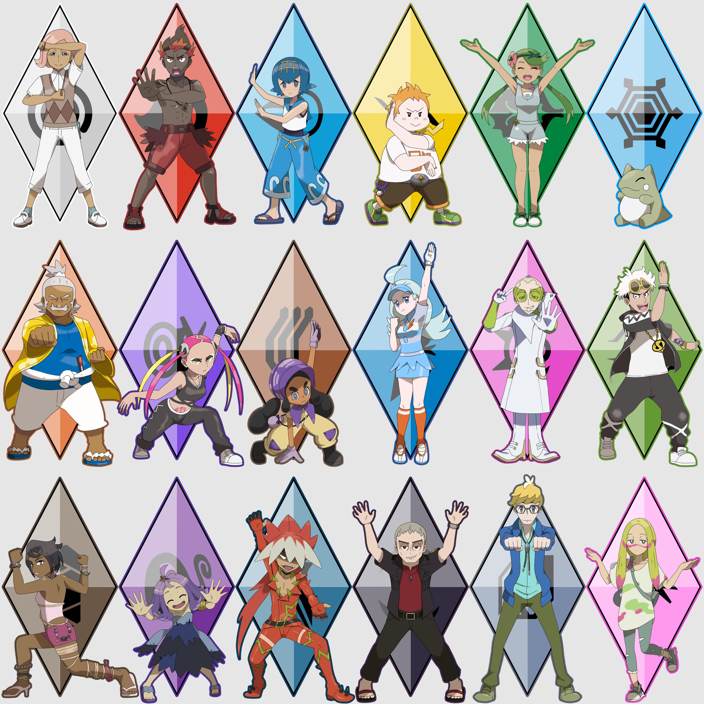 alola s type specialists pokémon sun and moon know your meme