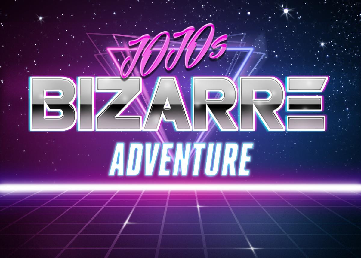 Jojo's bizarre adventure | Retrowave Text Generator | Know