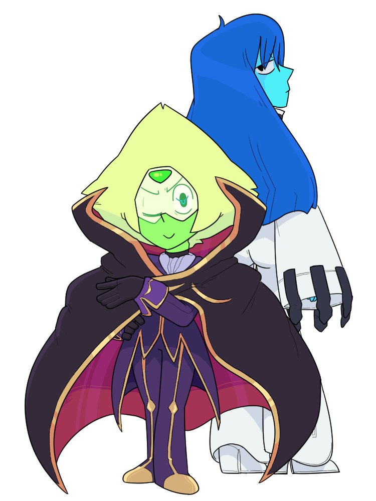 Peridot As Lelouch And Lapis As Cc From Code Geass By Discount