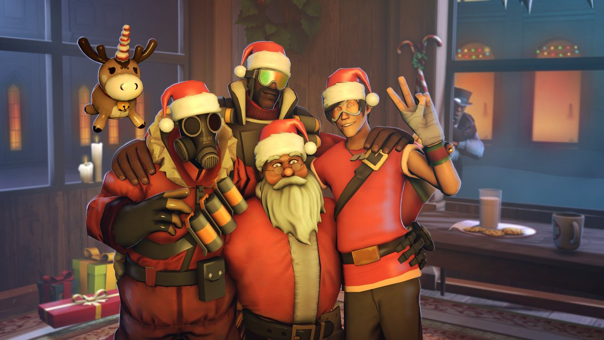 Overwatch Christmas.I Know Christmas Is Over But Hey There S Still Time To Post