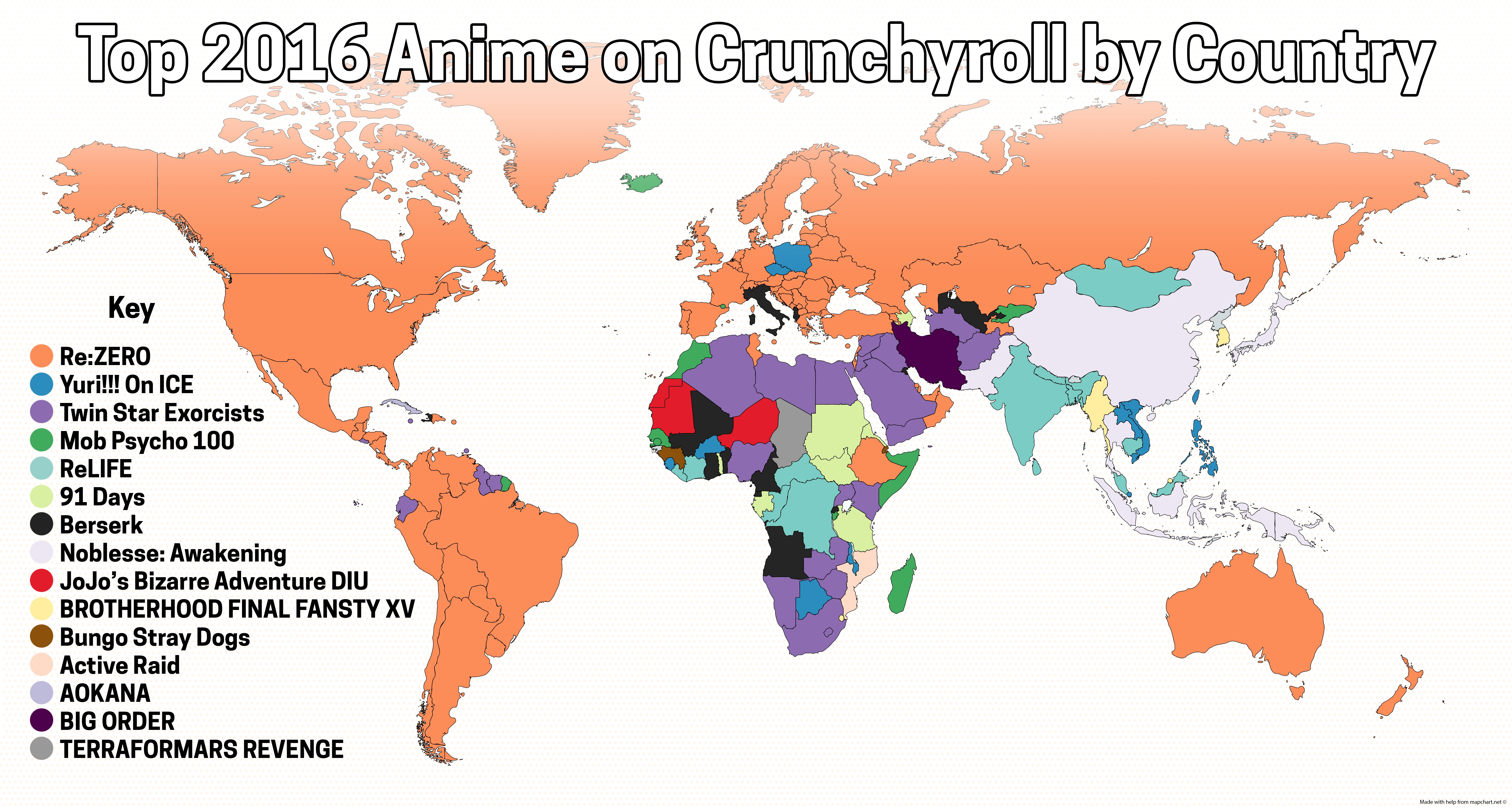 popular anime manga