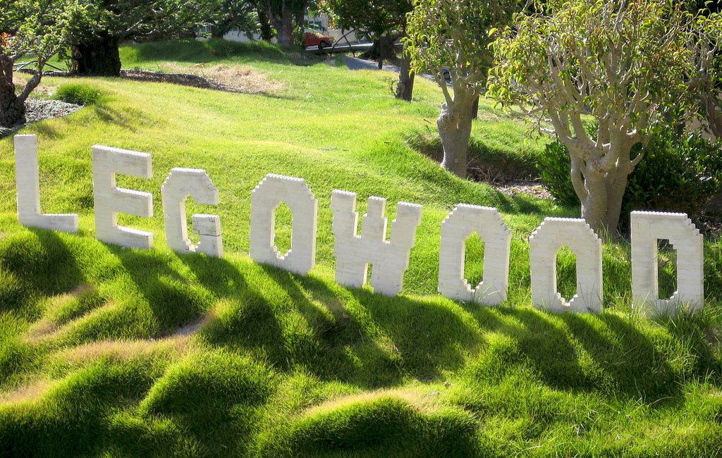 Legowood Hollywood Sign Parodies Know Your Meme