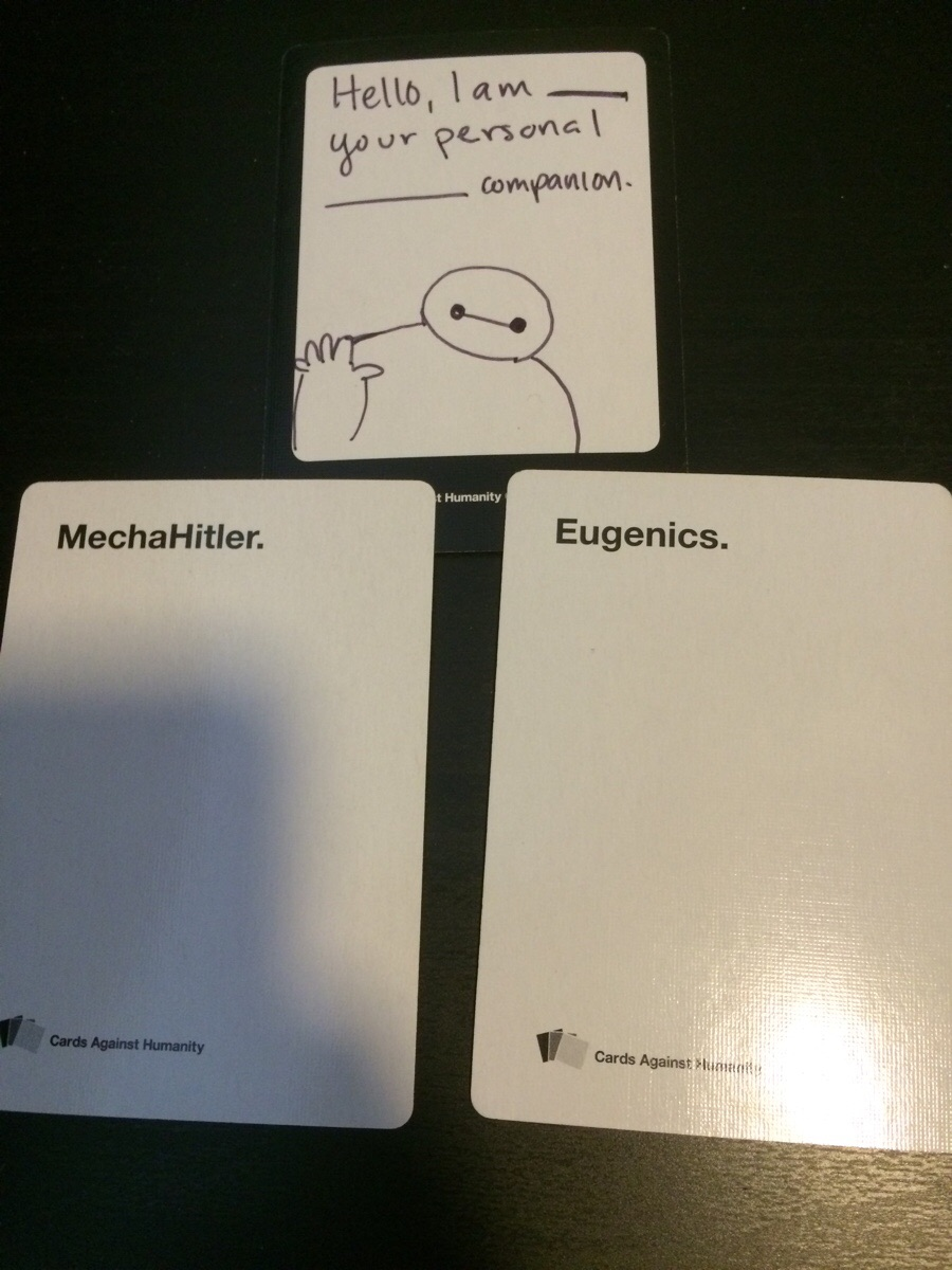 Baymax Cards Against Humanity Know Your Meme