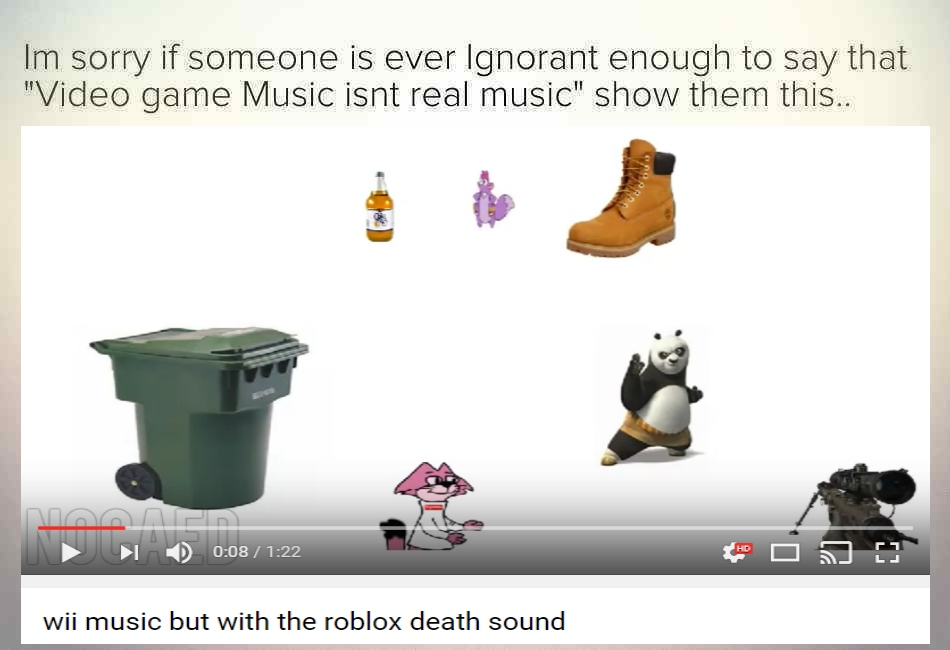 Roblox Death Sound | Replacement Remixes | Know Your Meme