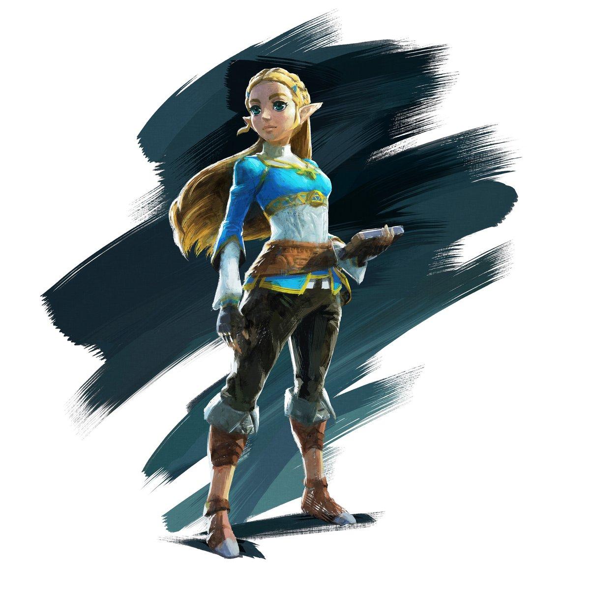 Art Of Zelda From Botw The Legend Of Zelda Breath Of The