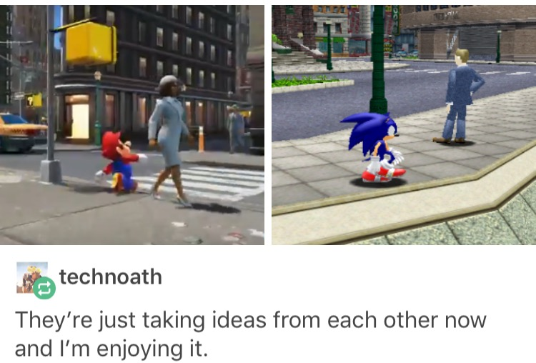 Sonic was real before Mario was real   Super Mario Odyssey   Know