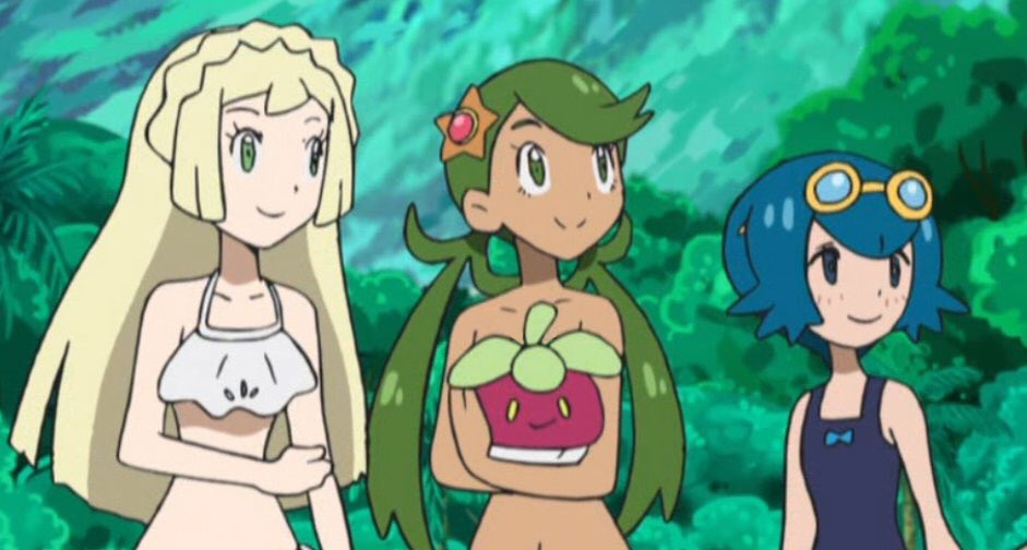 Naked pokemon gril