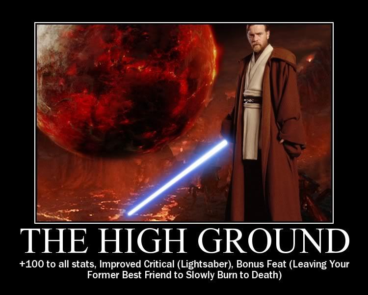 Image result for star wars high ground
