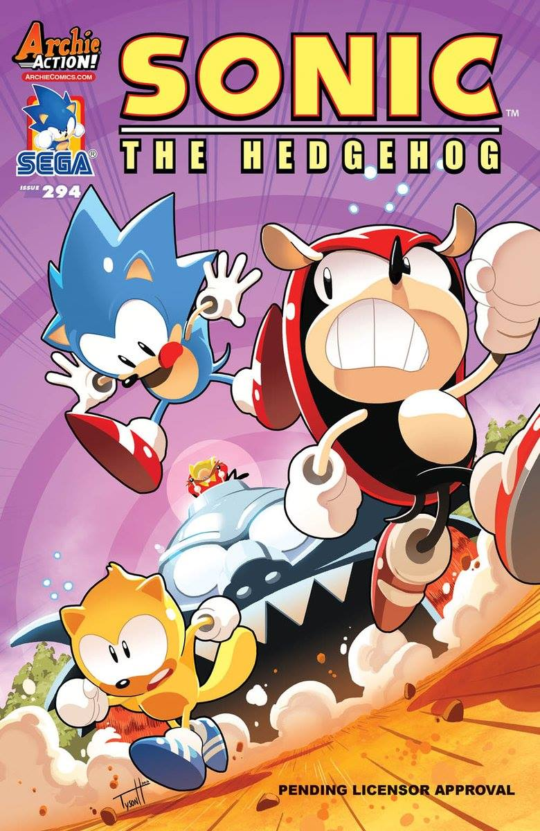 is the comic series still on seems like it archie sonic comics