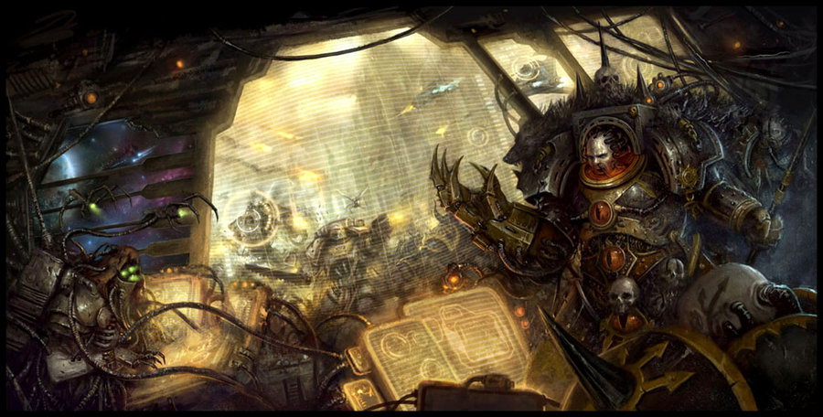 Horus Heresy by Daarken   Warhammer 40,000   Know Your Meme