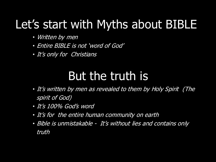 Image result for misconceptions of the bible not really the word of God it is written by men