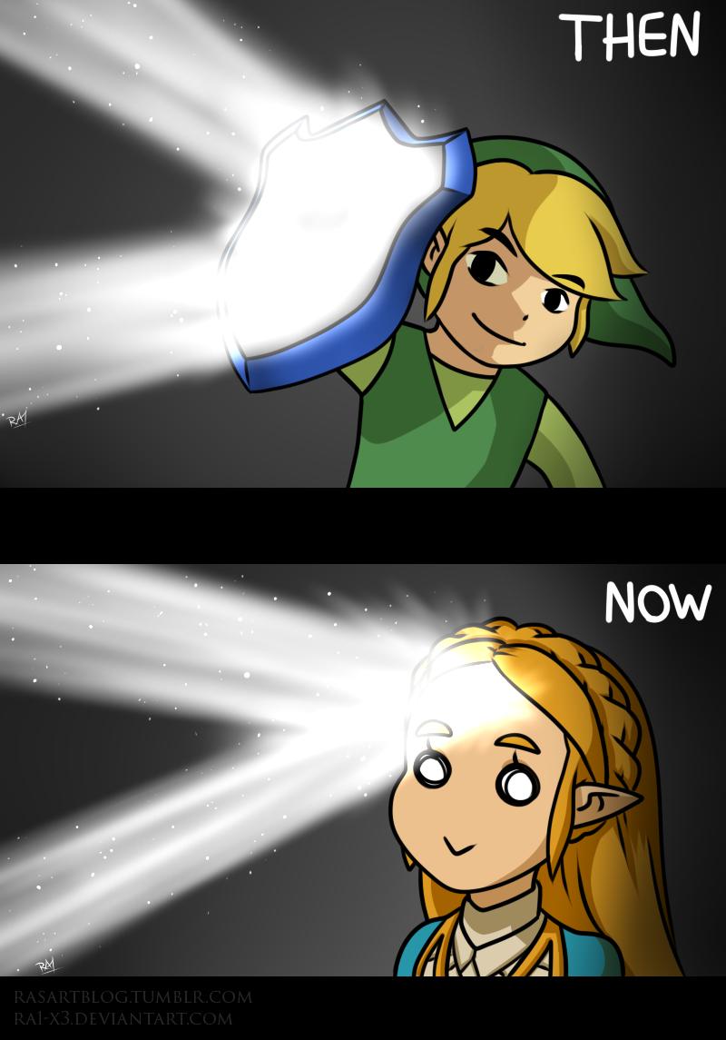 Zelda Has The Forehead Of The Gods The Legend Of Zelda Breath